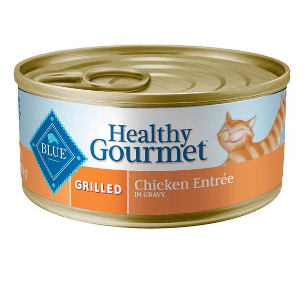 Blue Buffalo Healthy Gourmet Grilled Chicken Entree in Gravy Cat Food