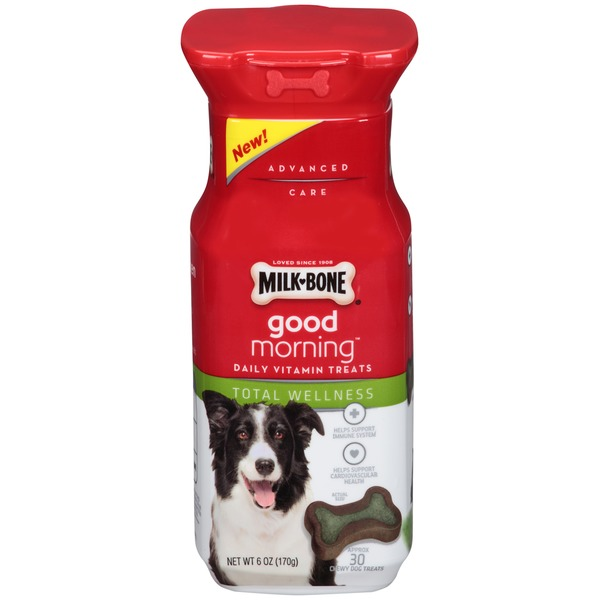 Milk-Bone Good Morning Daily Vitamin Total Wellness Dog Treats
