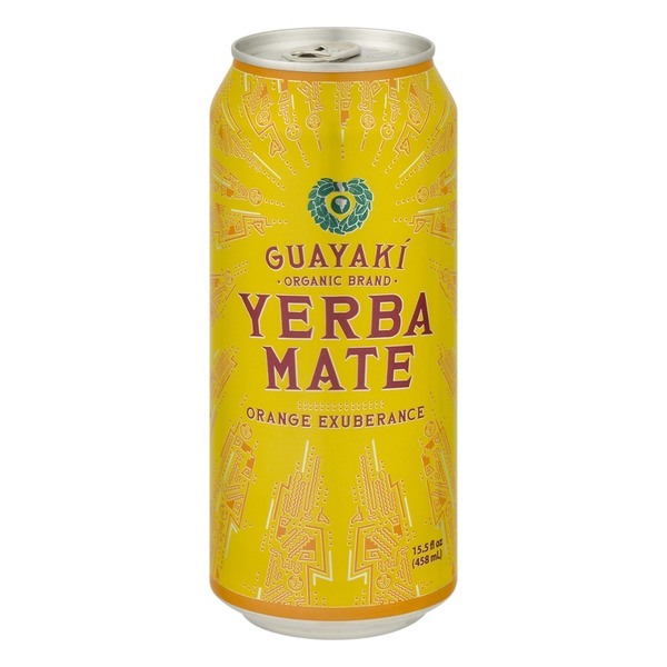 Guayaki Yerba Mate Orange Exuberance