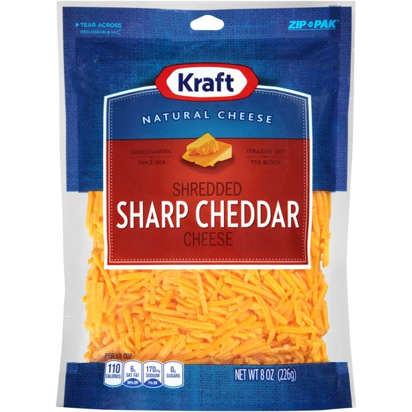 Shredded Sharp Cheddar Cheese