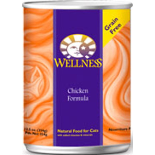Wellness Adult Chicken Canned Cat Food