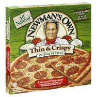 Newman's Own Thin & Crispy Uncured Pepperoni Pizza