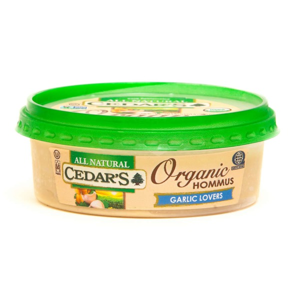 Cedar Organic Garlic Lovers Hommus