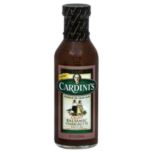 Cardini's Balsamic Vinaigrette Light Dressing