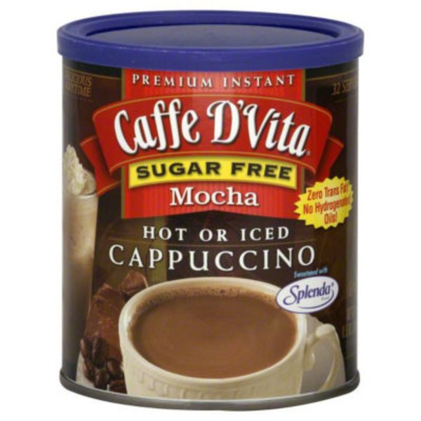 Caffe D'Vita Hot or Iced Cappuccino Mocha Mix