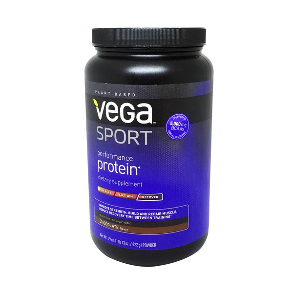 Vega Performance Protein, Recover, Powder, Chocolate Flavor