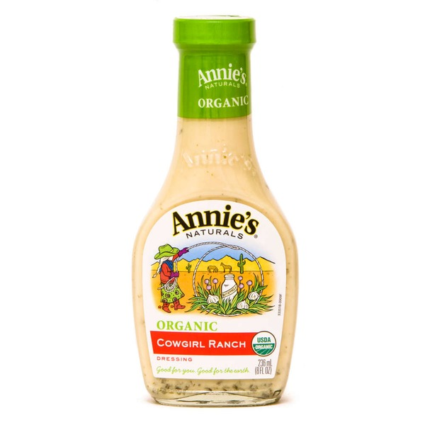 Annie's Homegrown Organic Cowgirl Ranch Dressing Dressing Organic