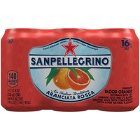 San Pellegrino Aranciata Rossa/Blood Orange Sparkling Fruit Beverage