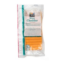 365 Mild Sliced Cheddar Cheese