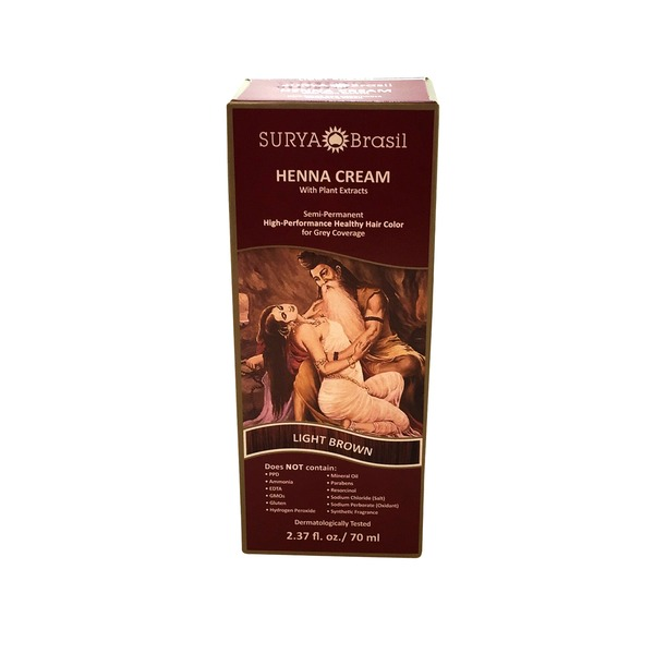 Surya Brasil Light Brown Henna Cream
