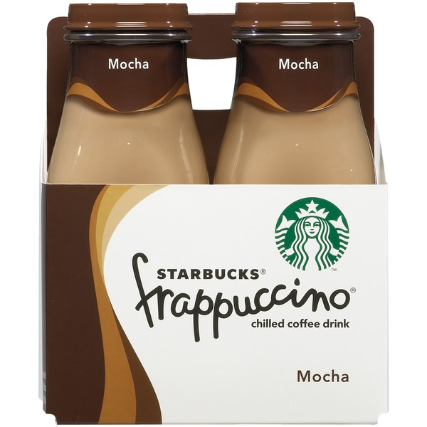 Starbucks Frappuccino Mocha Chilled Coffee Drink