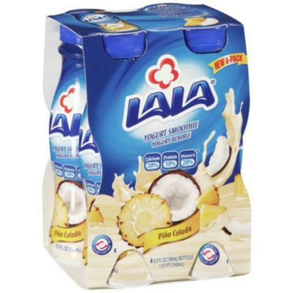 Lala Low Sugar Pina Colada Drinkable Yogurt Smoothie
