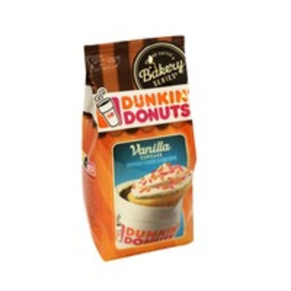Dunkin' Donuts Coffee, Ground, Vanilla Cupcake