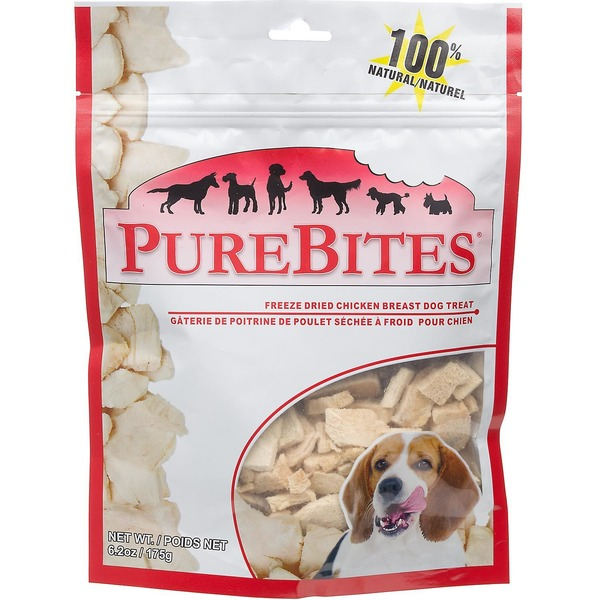 Pure Bites Natural Freeze Dried Chicken Breast Dog Treats
