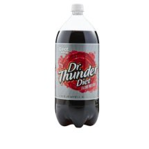 Diet Dr. Thunder Soda, 67.6 fl oz