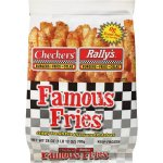 Checkers & Rally's Famous Fries Potatoes Crispy French Fried & Seasoned, 28 oz