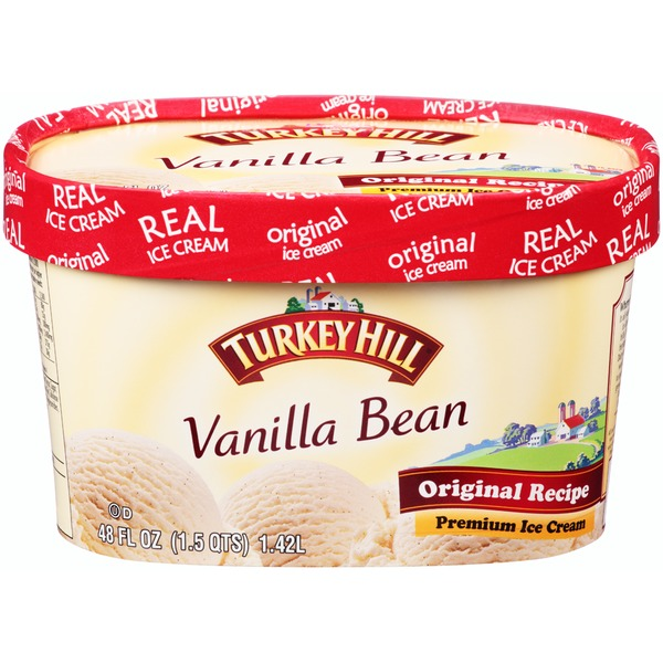 Turkey Hill Vanilla Bean Original Recipe Premium Ice Cream