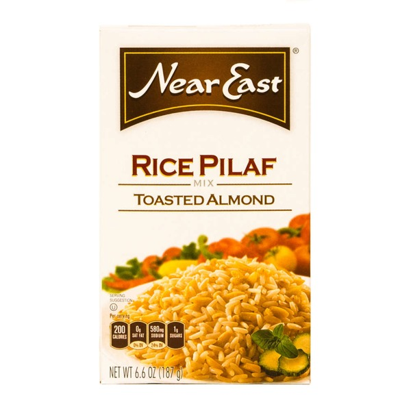 Near East Toasted Almond Pilaf Rice Mix