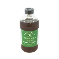 Royal Rose Organic Cardamom Clove Simple Syrup