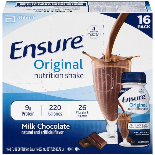 Ensure Plus Original Milk Chocolate Nutrition Shake