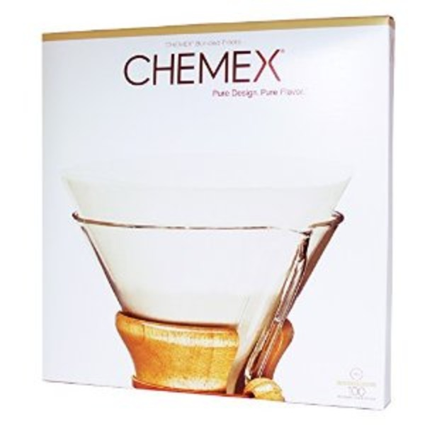 Chemex Bonded Unfolded Half Circle Coffee Filters, 13