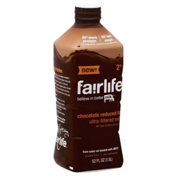Fairlife 2% Reduced Fat Chocolate Milk