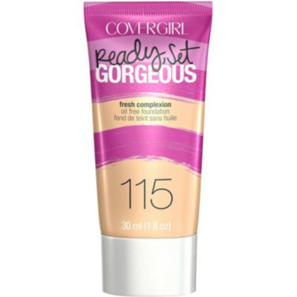 CoverGirl Ready Set Gorgeous COVERGIRL Ready, Set Gorgeous Foundation, Buff Beige 1 fl oz (30 ml) Female Cosmetics