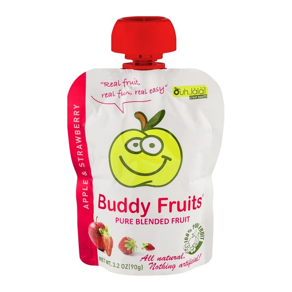 Buddy Fruit Apple Strawberry Blended Fruit