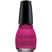 Sinful Colors Professional Nail Polish, Cream Pink, 0.5 Fl Oz