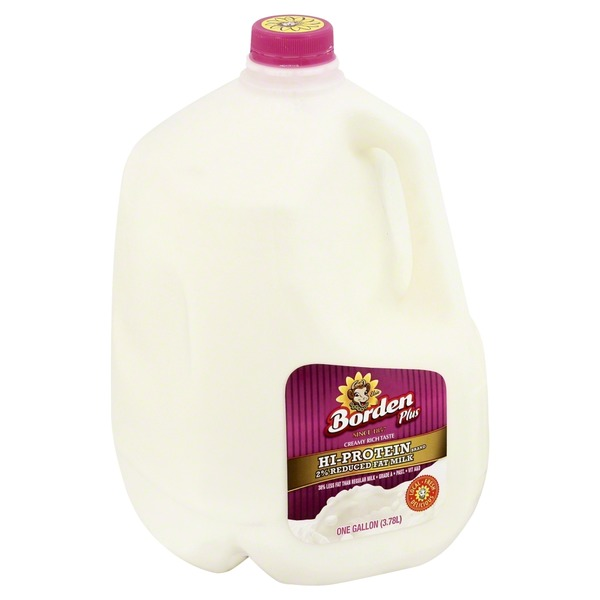 Borden Hi-Protein 2% Reduced Fat Milk