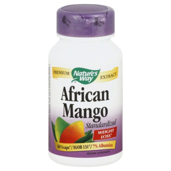 Nature's Way African Mango - 60 CT