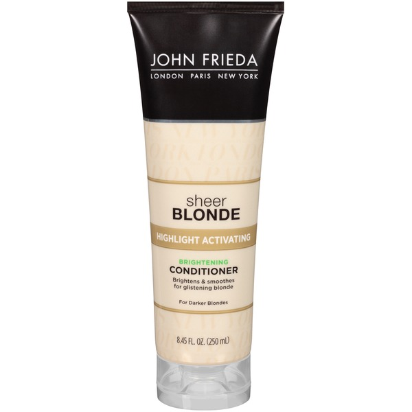 John Frieda Sheer Blonde Highlight Activating Darker Blondes Conditioner