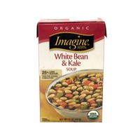 Imagine Natural Creations Organic White Bean & Kale Soup, 25% Less Sodium