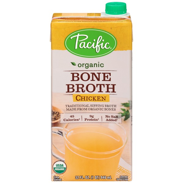 Pacific Organic Bone Chicken Broth