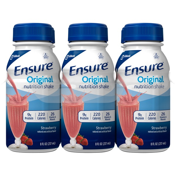 Ensure Plus Strawberry Nutrition Shake