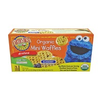 Earth's Best Organic Mini Waffles Blueberry - 32 CT