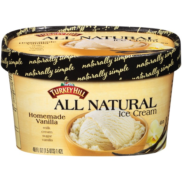 Turkey Hill Homemade Vanilla Ice Cream