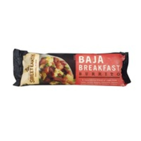 Sweet Earth Natural Foods Baja Breakfast Burrito