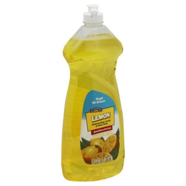 Hill Country Fare Lemon Dishwashing Liquid And Hand Soap