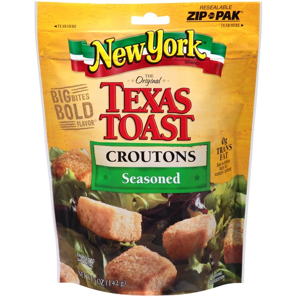 New York Style Bakery Texas Toast Seasoned Croutons