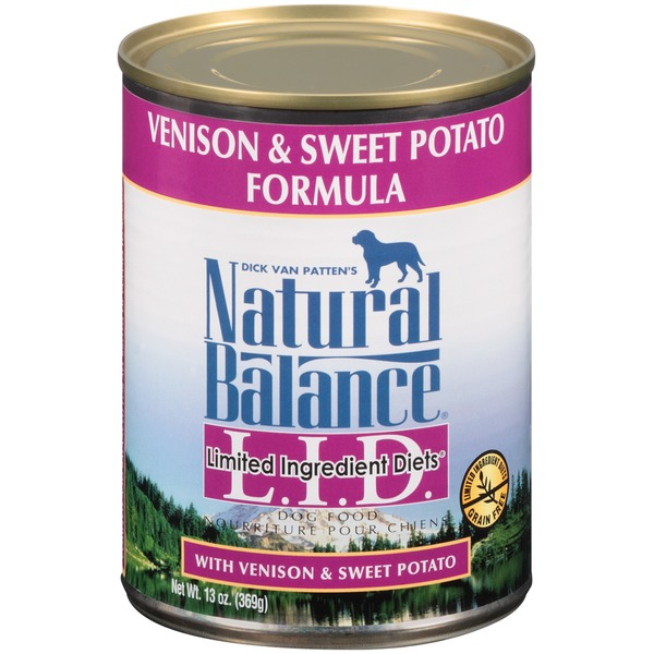 Natural Balance Limited Ingredient Diets Venison & Sweet Potato Formula Dog Food