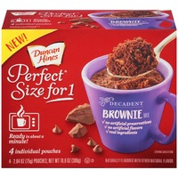 Duncan Hines Perfect Size for One Decadent Brownie Mix