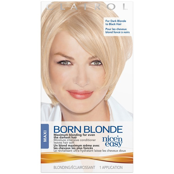 Clairol Born Blonde Nice 'n Easy Born Blonde Maxi 1 kit Female Hair Color