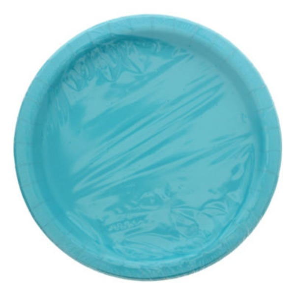 Unique Caribbean Teal 9 In Plates