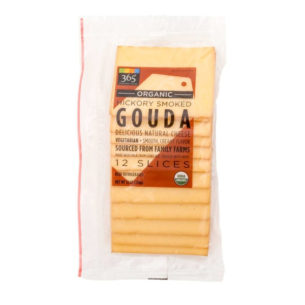 365 Hickory Smoked Gouda Slices