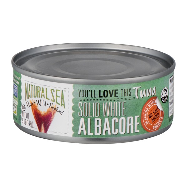 Natural Sea Solid White Albacore Tuna