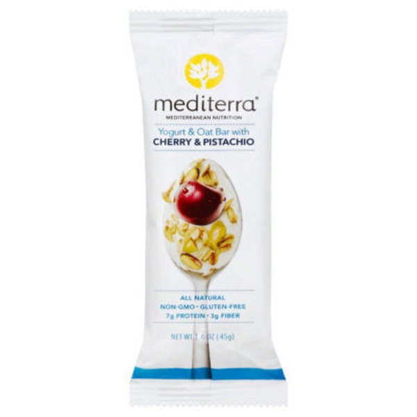 Mediterra Cherry & Pistachio Yogurt & Oat Bar