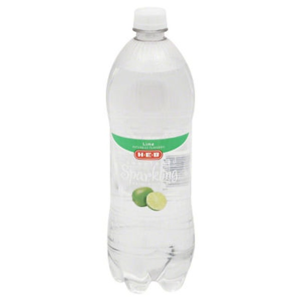 H-E-B Sugar Free Lime Sparkling Water