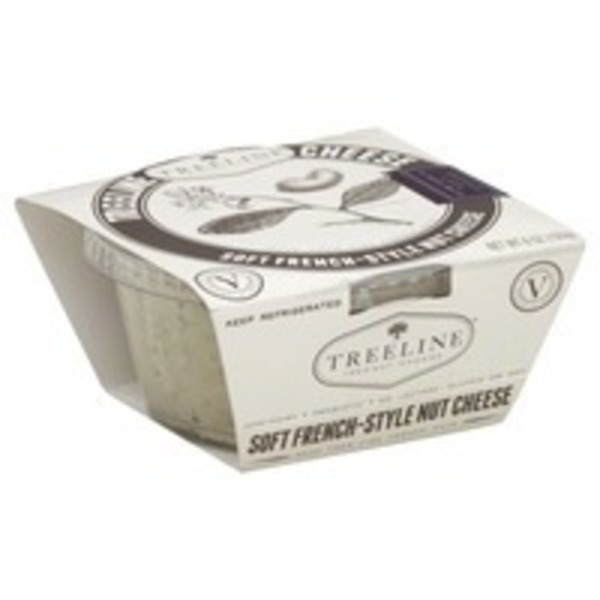 Treeline Garlic Dairy Free Soft Cheese