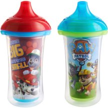 Munchkin Click Lock Insulated Hard Spout Sippy Cup - Paw Patrol, 2 pack